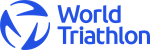 World Triathlon logo in Transition Blue