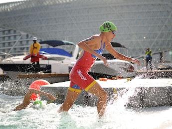 2018 ITU World Triathlon Abu Dhabi Elite Women
