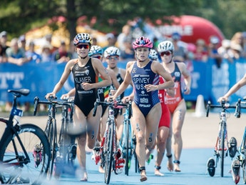 2018 ITU World Triathlon Edmonton Elite Women