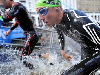 2018 ITU World Triathlon Hamburg Elite Men