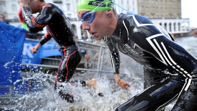 2018 ITU World Triathlon Hamburg Elite Men