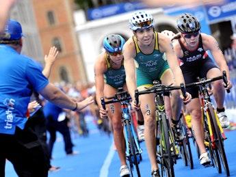 2018 ITU World Triathlon Hamburg Elite Women