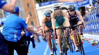 2018 ITU World Triathlon Hamburg Elite Women