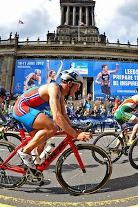 2018 ITU World Triathlon Nottingham/Leeds Magazine Show