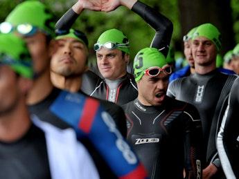 2018 ITU World Triathlon Leeds Elite Men
