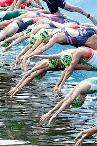 2018 ITU World Triathlon Montreal Elite Women