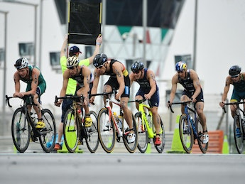 2019 ITU World Triathlon Abu Dhabi Elite Men