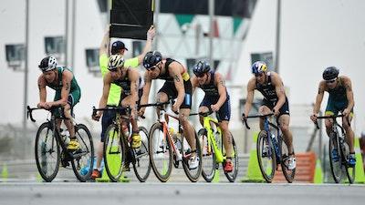 2019 ITU World Triathlon Abu Dhabi Elite Men