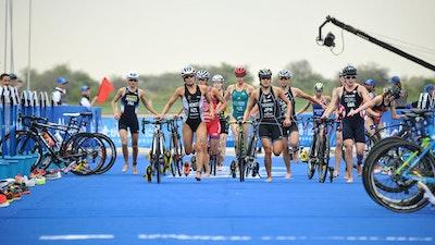 2019 ITU World Triathlon Abu Dhabi Elite Women