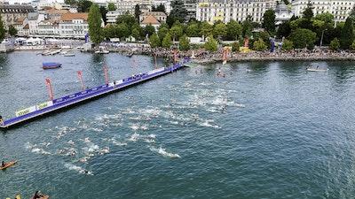 2018 Lausanne ITU Triathlon World Cup Elite Women