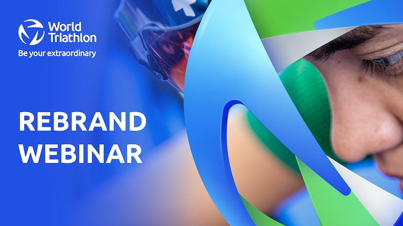 World Triathlon Rebrand Webinar on TriathlonLive
